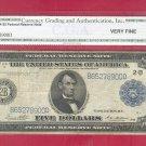 Series 1914 $5.00 ~~ FRN ~~ VF 20 = B65278900D