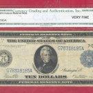 Series 1914  $10.00 ~~ FRN ~~ VF 20 = G78318185A