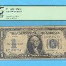 1934 =  $1.00 =  SILVER certificate  F 15