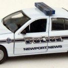 Newport News Police Car