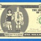 1 MILLION dollars = Novelty note =  4SXORLOFF.CUM