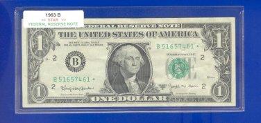 """1963b """" B """" STAR  $1.00 FRN = B51657461*"""