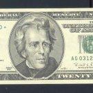 """1996 """" G """" STAR $20.00 AG03128770*"""