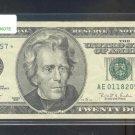 """1996 """" E """" STAR $20.00 AE01182057*"""