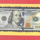 "== Series Key == 2009a "" D "" star note $100.00 LD00114787*"