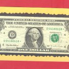 STAR note / Repeater ~~ Very Scarce ~~ Fancy Serial #