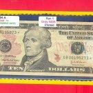 """2004A """" B """" STAR $10.00 FRN GB00195273*"""