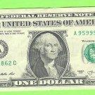 95999862 - HIgh Serial # $1.00 FRN == LQQK