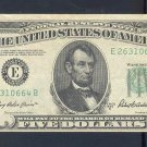 $5.00 === ERROR NOTE=== WIDE margin == E26310664B