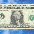 "1969d "" E "" STAR $1.00 FRN = E02229042*"