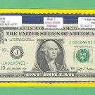 """~ 2009 ~ $1.00 """" J """" == STAR = = 640K printed = J00005451*"""