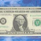"""1969 """" B """" STAR $1.00 FRN = B10375643*"""