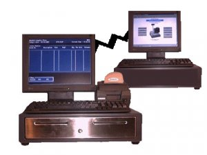 Point of Sale, POS, Cash Register - 2 Station