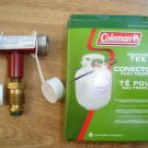 NEW COLEMAN PROPANE STOVE LANTERN GRILL CONNECTOR T TEE