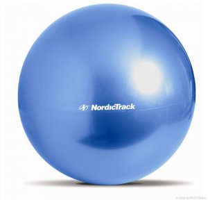 NEW 65CM NORDIC TRACK EXERCISE FITNESS YOGA PILATES SWISS GYM WORKOUT BODY BALL