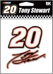 Nascar Tony Stewart - embroided sticker