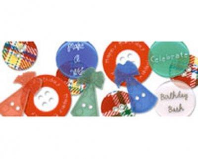 Junkitz Birthday Buttonz