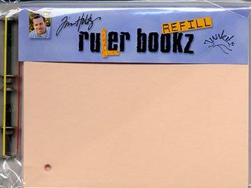 Junkitz Ruler Bookz refill - 4x5