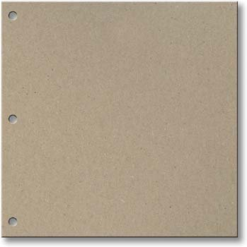Junkitz Chipboard Covers 11x13 with 3 holes