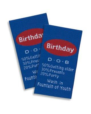 Junkitz labelz - birthday