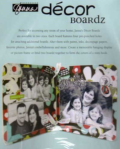 "Junkitz Decor Boardz - 10"" x 12"""