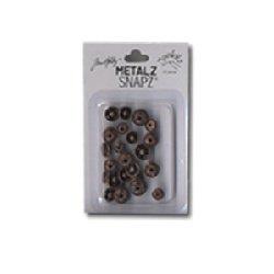 Junkitz Metal snapz - dull brass