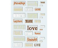 Junkitz  epoxy stickers friends and family