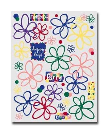 Junkitz  expressionz bright floral