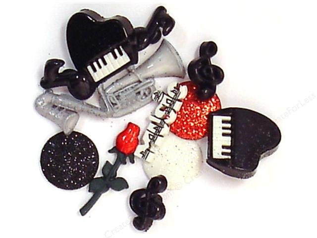Dress It Up buttons by Jesse James Music