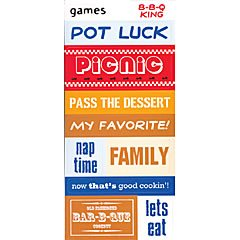 DCWV - picnic sayings value pack