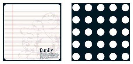 Teresa Collins 8x8  Family Defined TC-2389