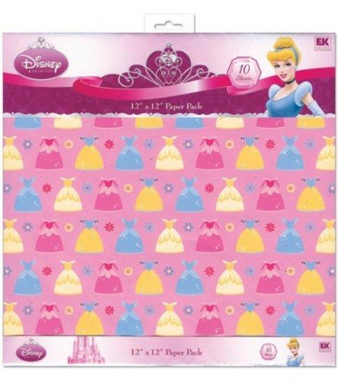 EK Success Traditional Princess 12x12 paper pack