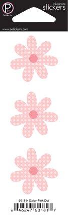 Pebbles Inc daisy pink dot
