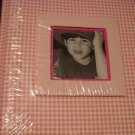 The Dalee Bookbinding Co. 8x8 - pink and white photo album