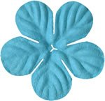 "Bazzill Paper Flowers 1.75"" -tropical swimming pool"