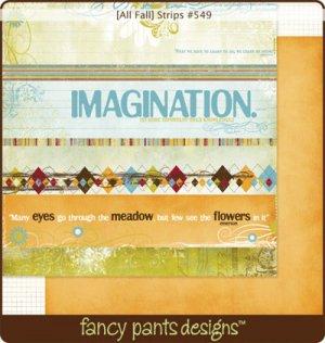 Fancy Pants All Fall Strips #549