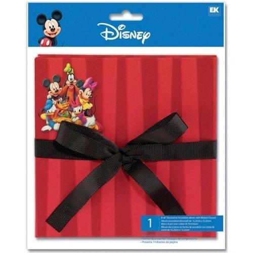 EK Success Disney Mickey & Friends Accordion 6x6 album DAA03
