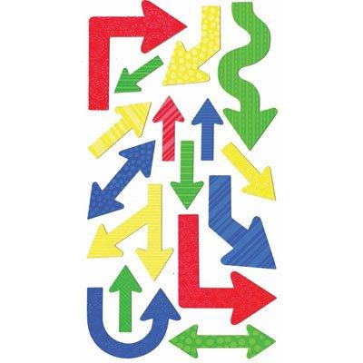 Sticko Primary Arrows Stickers