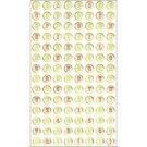 Making Memories Mistletoe Glitter Epoxy Foil Alphabet Stickers