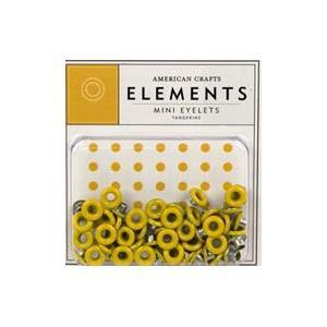 "American Crafts - Medium 3/16"" Tangerine Eyelets"