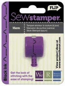 We R Memory Keepers - Sew Stamper - Hem Stitch Head