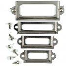 Junkitz Tim Holtz Metalz mini platez -silver