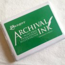 Ranger Inks Archival Ink Pad - Emerald Green (jumbo pad)