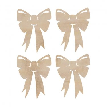 Kaisercraft wood flourishes - Bows