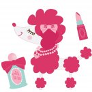 Imaginisce Perfect Posh Collection - Vinyl stickers Poodle