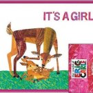Eric Carle Baby Announcements - its a girl