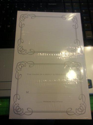 Bellisimo Reception/reply cards