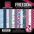 Bazzill Basics - Freedom - 6x6 multipack pad