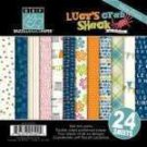 Bazzill Basics - Lucy's Crab shack - 6x6 multipack pad