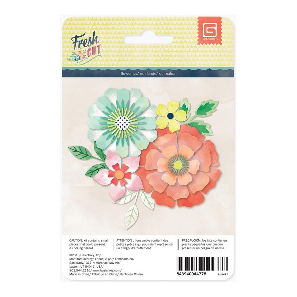 Basic Grey fresh cut flower kit